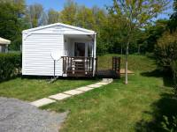 Photo mobilhome 2 pers. 2 chambres avec terrasse et TV
