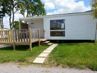 Photo mobilhome 3-4 pers. 2 chambres avec terrasse et TV