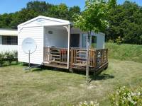 Photo mobilhome 5-6 pers. 2 chambres avec convertible, terrasse et TV