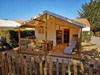 Photo TENTES ECO LODGE 2 CHAMBRES 5 PERSONNES