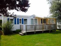 Photo Mobil-home 3 chambres 36 m², terrasse bois couverte